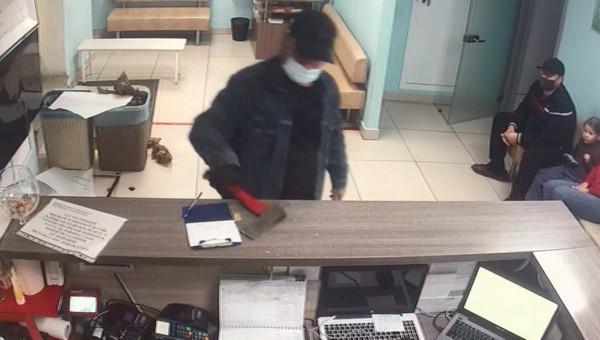 Мужчина, потерявший пса, разгромил ветлечебницу