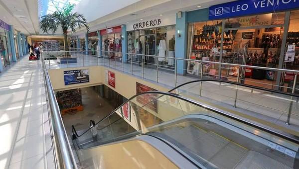 В Серпухове выставлен на продажу один из крупнейших торговых центров