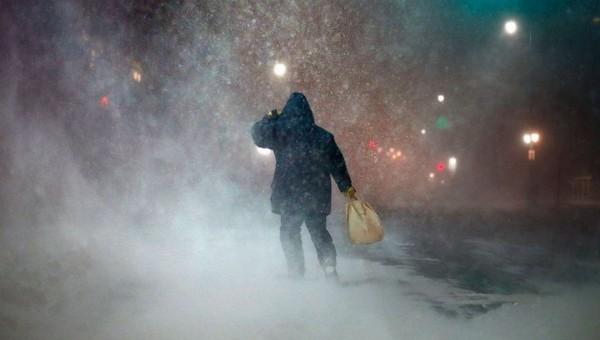 На Центральную Россию надвигается мощнейший шторм