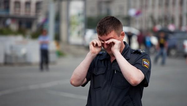 В Подмосковье мигрант надавал тумаков полицейским
