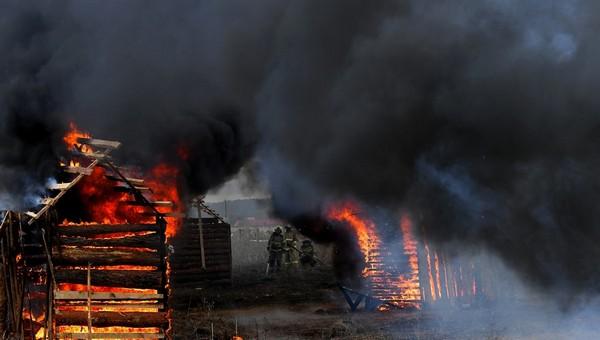 Мужчина разом спалил 63 дачи