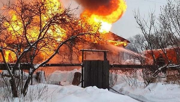 Лишь восьмилетняя девочка выжила в страшном пожаре в Подмосковье