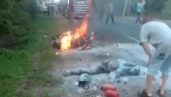 Семья байкеров погибла в страшной аварии в Подмосковье