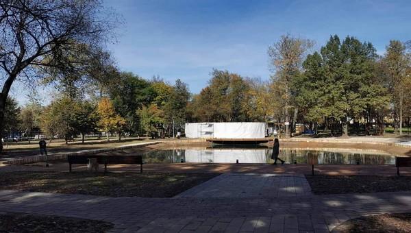 Мы проникли в еще закрытый парк Олега Степанова. Фоторепортаж