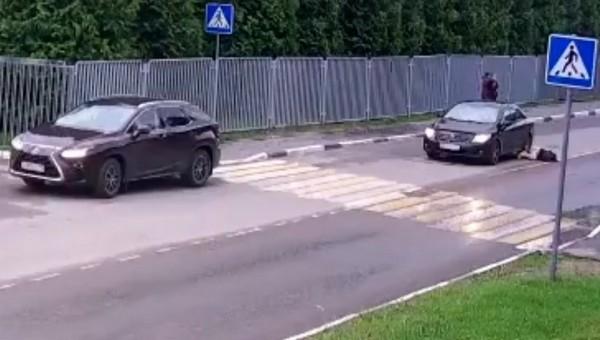 В Подмосковье водитель сбил девятилетнюю девочку прямо на пешеходном переходе