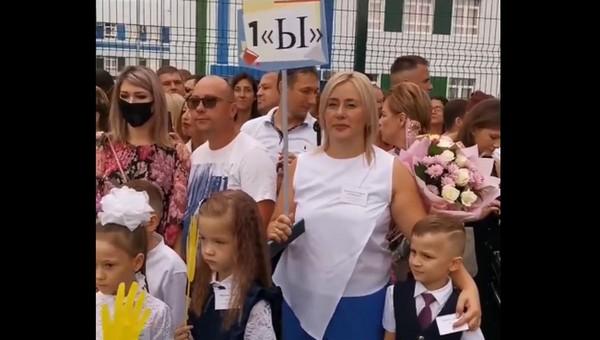 Невиданная школьная линейка состоялась в российском городе