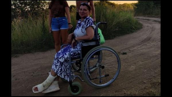 Директор Липицкой школы оказалась в инвалидной коляске