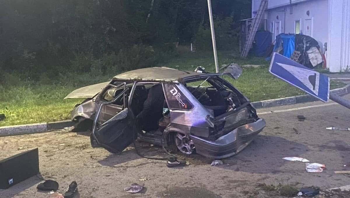 Спустя сутки новая авария снова случилась на Калужском шоссе