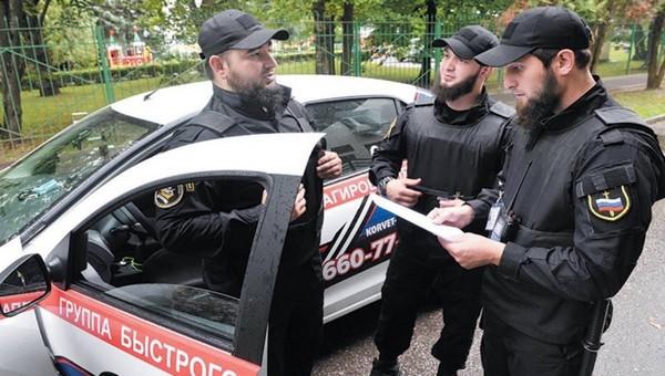 В подмосковном городе администрация наняла кавказцев для охраны правопорядка