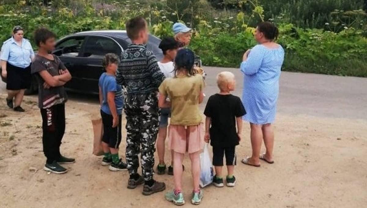 Шесть братьев и сестер месяц жили на улице в Подмосковье