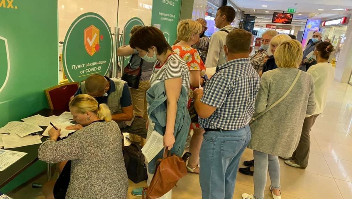 В Серпухове сложилась жуткая ситуация с прививками от COVID-19