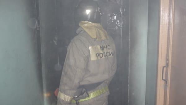 В Серпухове во время пожара погиб мужчина