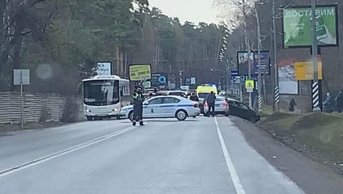 В Москве в аварию попал кортеж премьер-министра