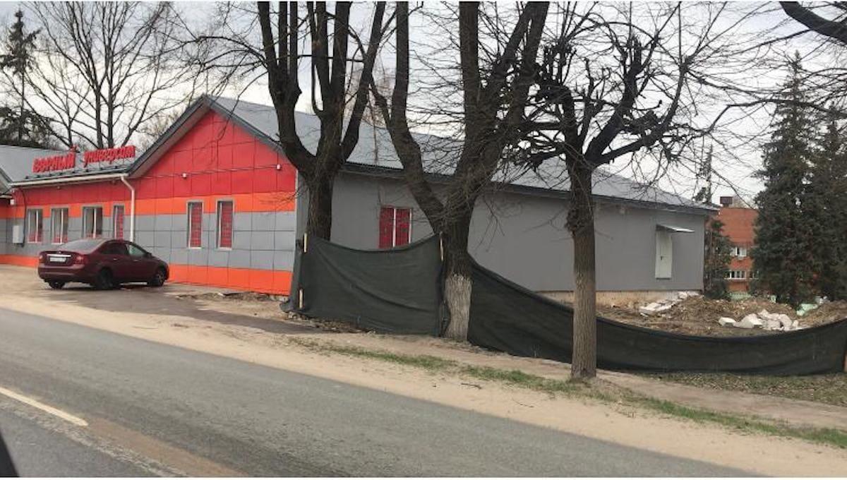 В Серпухове могут снести большой новый магазин
