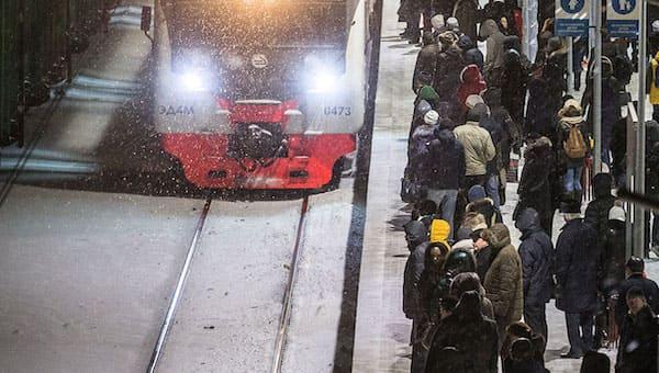 На станции «Серпухов» два поезда разорвали мужчину на части