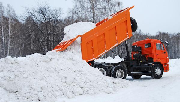 Мэрия Серпухова объявила конкурс на вывоз снега