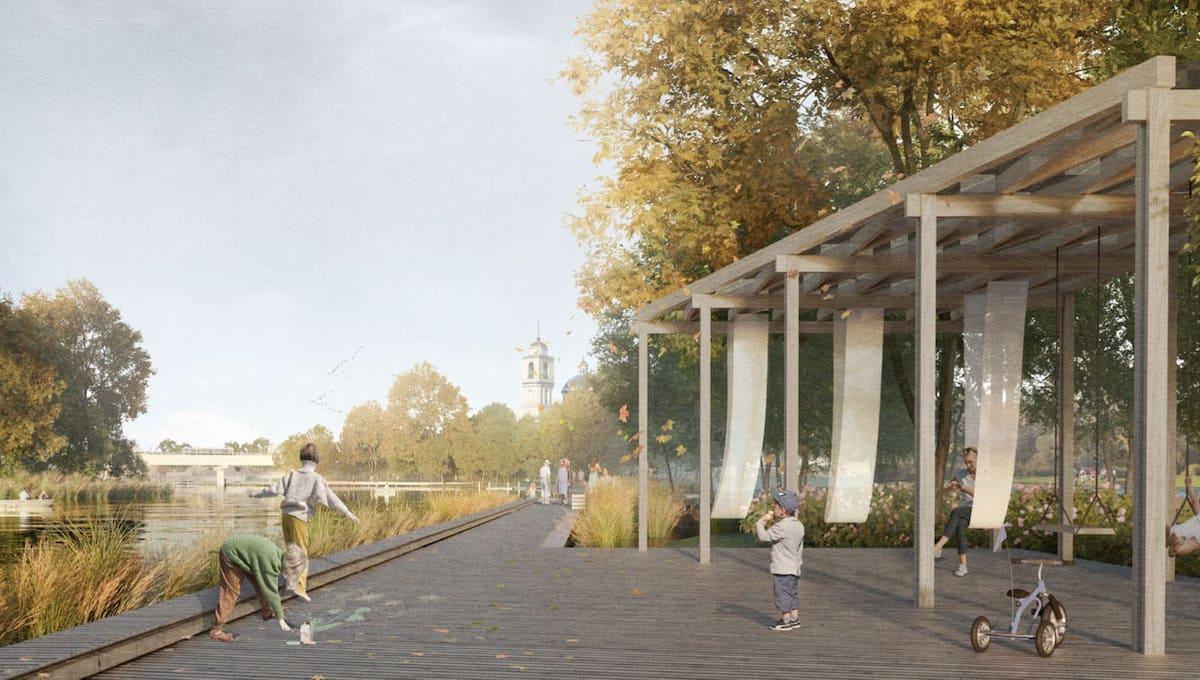 Представлен новый проект набережной в Серпухове