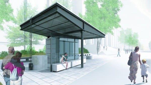 Серпуховичи надеются, что новые остановки в городе не будут похожи на контейнерные площадки