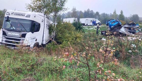 Под Тулой в автомобильной аварии погибли четверо