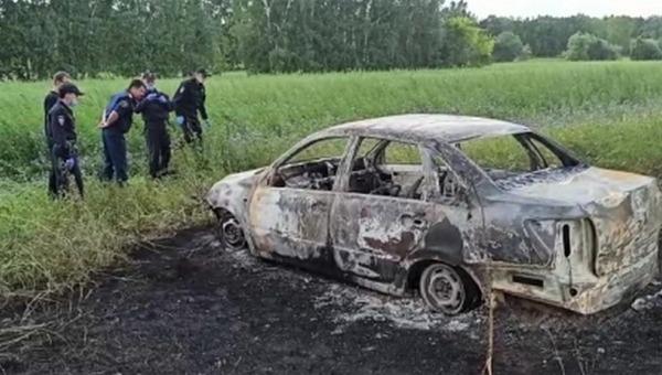Рецидивист убил полицейского и сжег его вместе с автомобилем