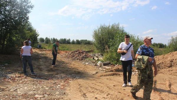 В Московской области экоактивисты от партии  «Зелёные» выявили загрязняющую Можайское водохранилище свалку