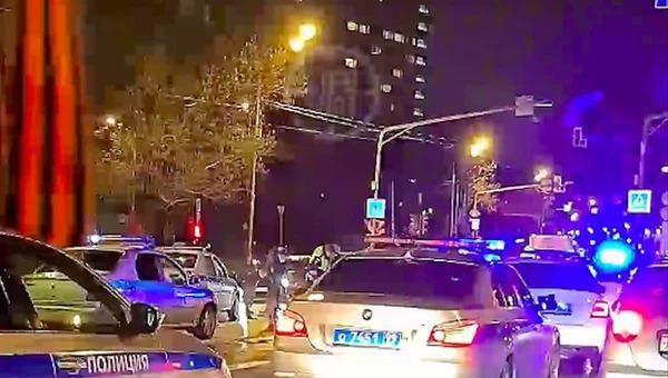 Минувшей ночью в Москве случилась погоня