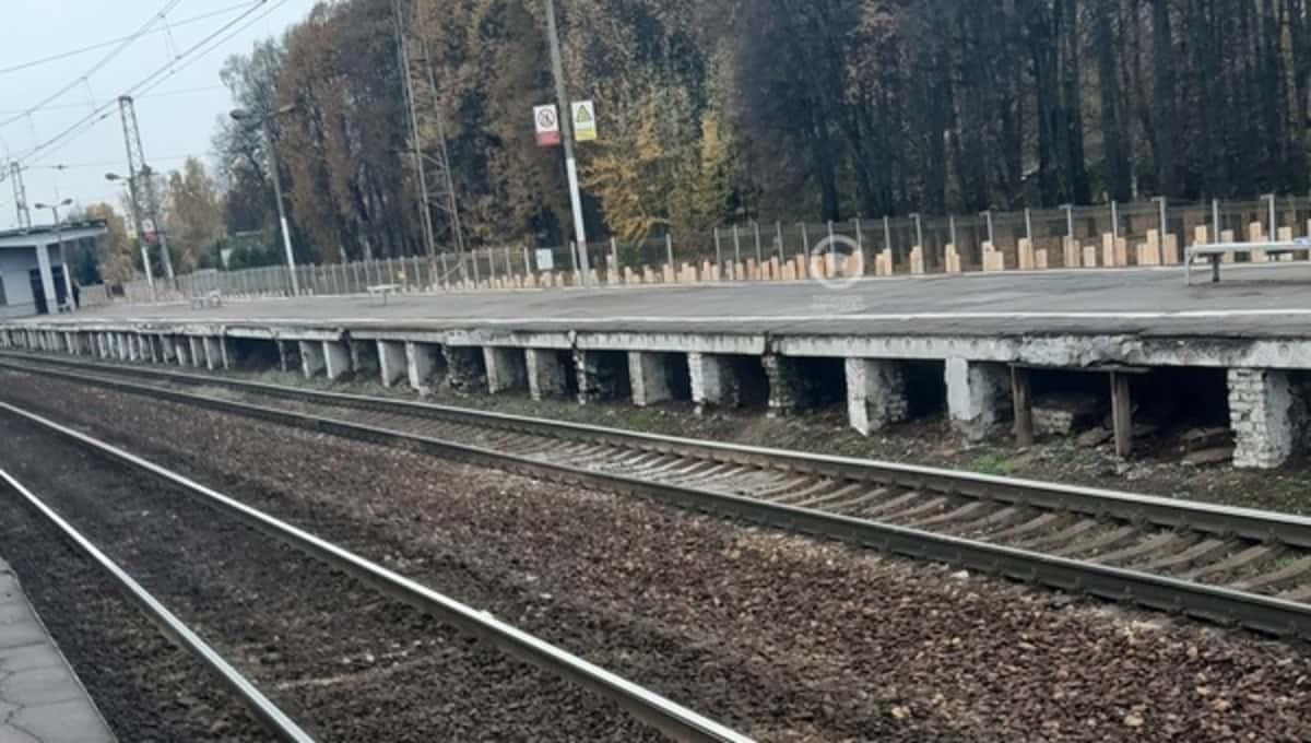 Папа в Москве ехал встречать сына на станцию, а нашел в канаве
