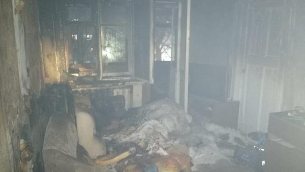 В Подмосковье в результате пожара погиб ребенок