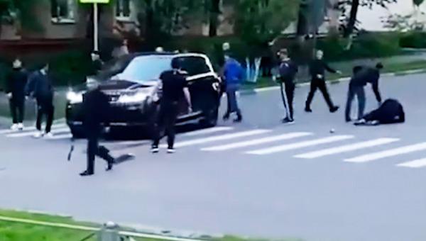 В Москве нарушитель ПДД начал стрелять по пешеходам