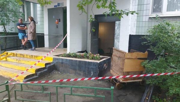 В Москве в мусоропроводе найден новорожденный ребенок