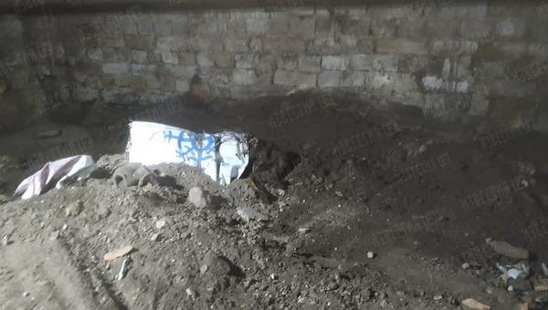 В Петербурге обнаружен труп наполовину закопанной девушки