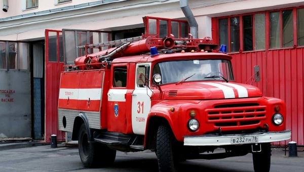 В Подмосковье в цеху медпрепаратов вспыхнул пожар
