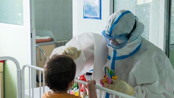 В России зафиксированы тяжелые случаи COVID-19 у детей