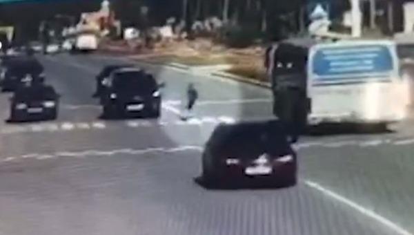 Пенсионерка сбила мальчика и переехала его автомобилем