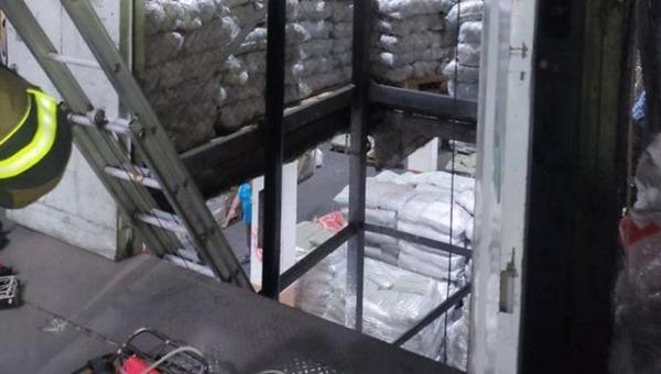 Грузовой лифт рухнул на юго-востоке столицы