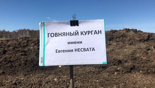 В России появился «говняный курган»