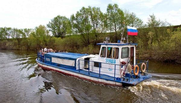 Речные трамвайчики «Зуша», работающие на маршруте «Серпухов - Сады», с 1 августа, по традиции, поменяют расписание.