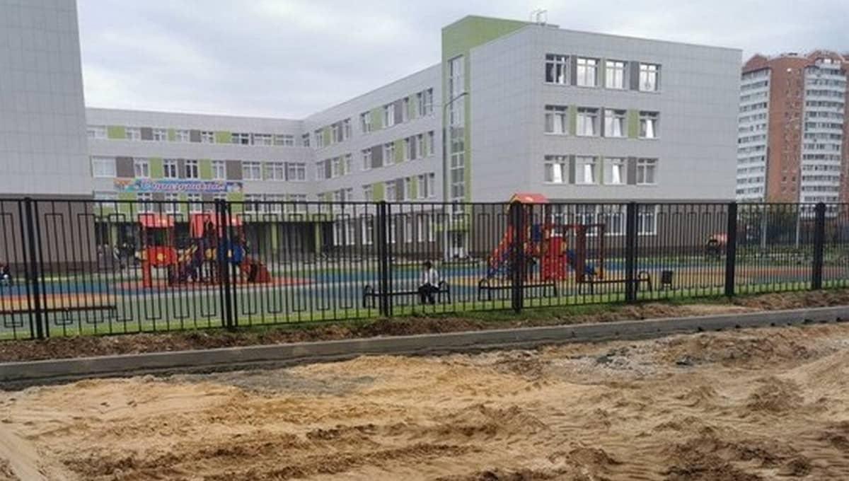 Жителям Серпухова не дает покоя вой, исходящий от новой школы