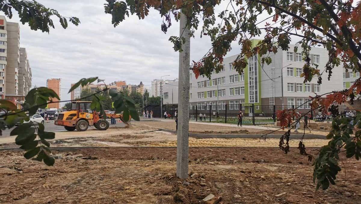 В Серпухове власти оконфузились с открытием новой школы