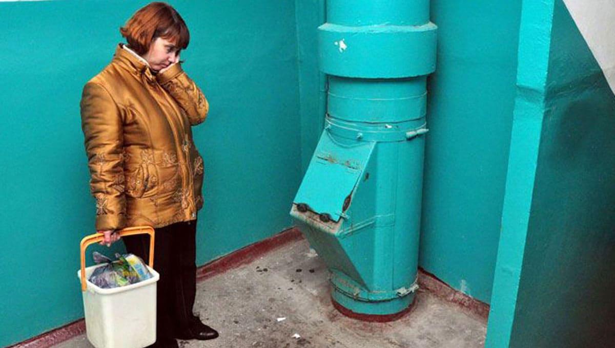 Подмосковье может отказаться от мусоропроводов