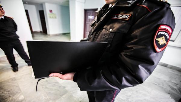 В здании полиции Чехова проходят обыски