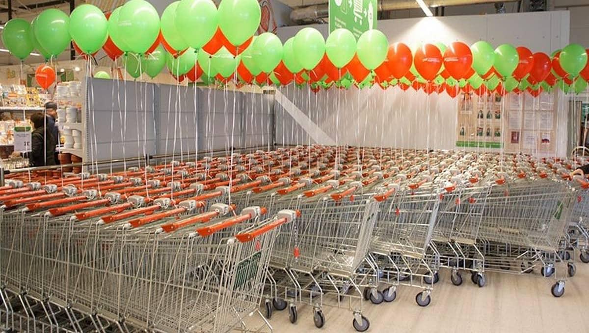 Один из популярных гипермаркетов Серпухова закрылся