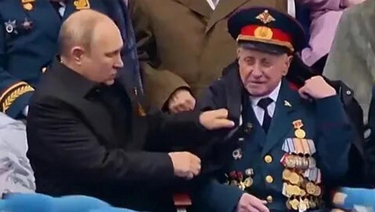 Преступники обокрали ветерана, которого президент укрывал на параде Победы