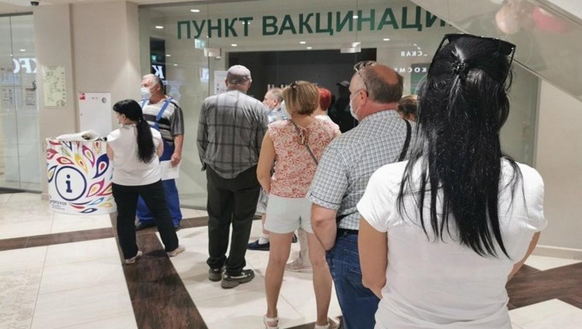 В поликлиниках Подмосковья начался ажиотаж по поводу вакцинации