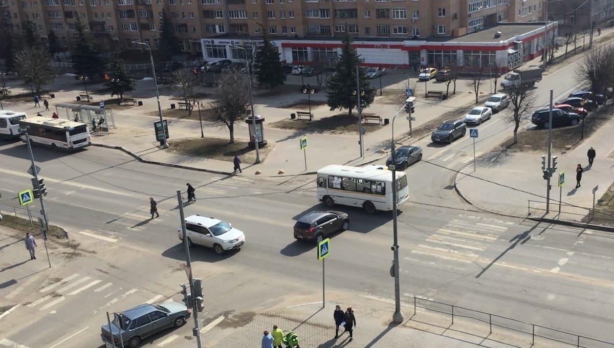 В центре Серпухова вновь вырубился свет
