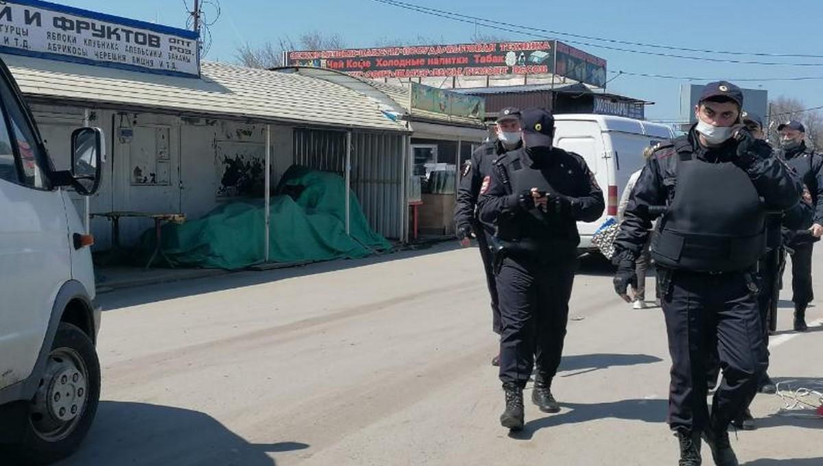 Под Ростовом заблокировали работу пяти крупных рынков. Без работы остались 20 тысяч человек