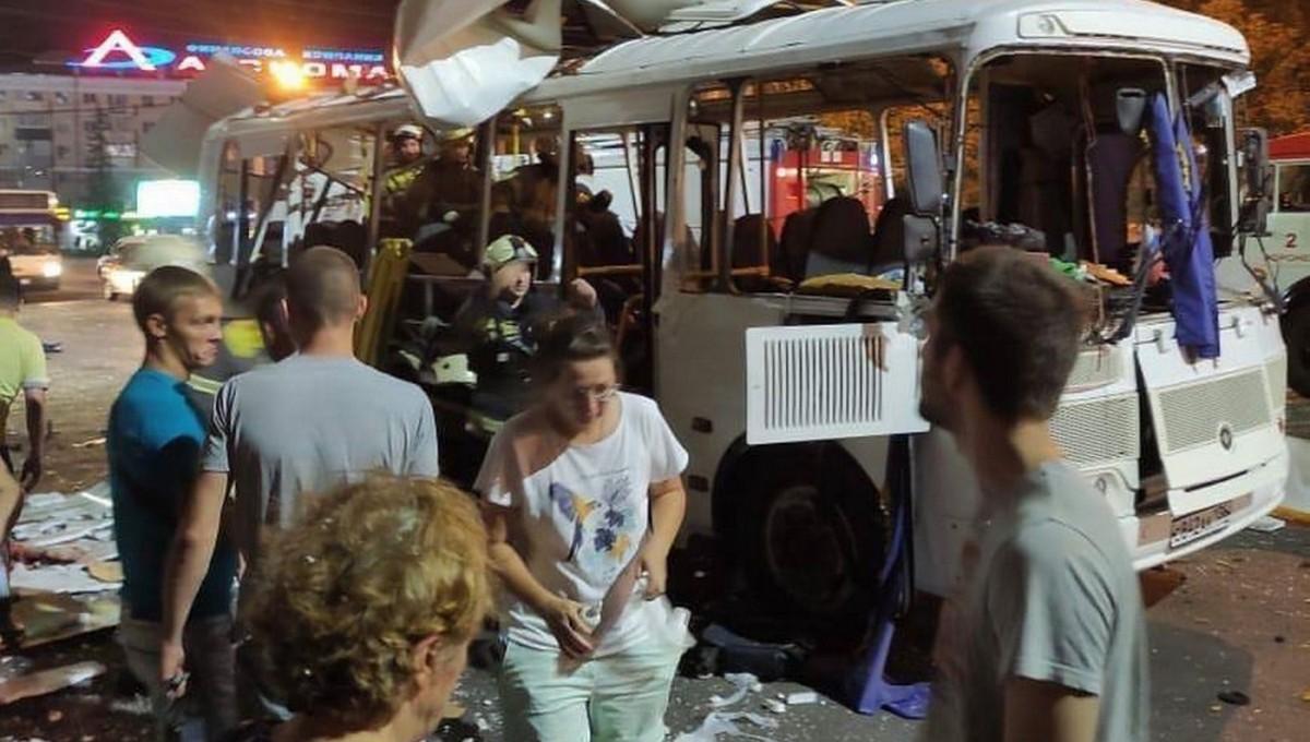 Стала известна одна из вероятных причин взрыва в воронежском автобусе