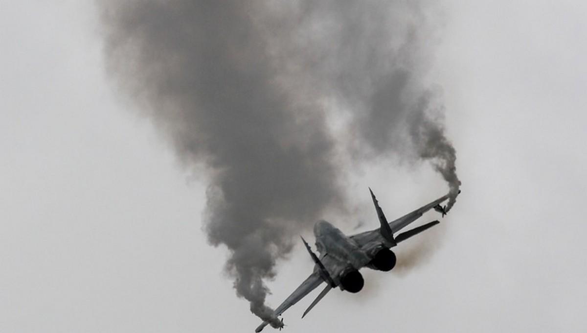 Еще один российский самолет упал во время тренировочного полета