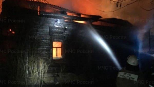 В центре старинного русского города на пожаре погибла 87-летняя пенсионерка