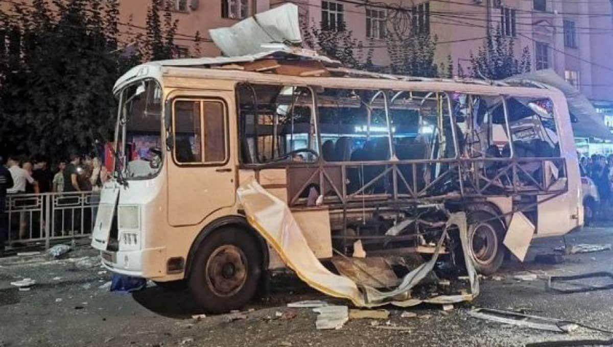 Появилась еще одна страшная версия причин взрыва автобуса в Воронеже